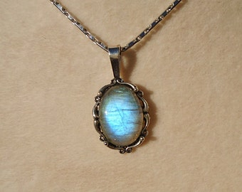 Labradorite Pendant WAS 65.00 on SALE 50.00