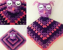 Unique Animal Lovey Crochet Related Items Etsy