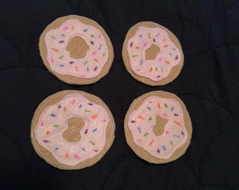 Doughnut Felt Coasters