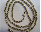 14k Gold 24 inch Chain w/Safety Clasp