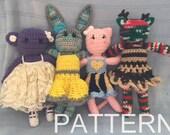 Crochet Animal Dolls