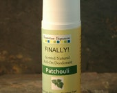 PATCHOULI roll-on Finally! A Natural Deodorant that actually work
