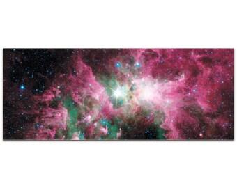Carina Nebula | Reverse-Print Acrylic Outer Space NASA Art