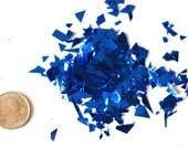 New! Metallic Micro-Confetti - Blue
