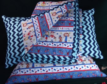 TODDLERS BLANKET QUILT - Pillows - Patriotic