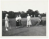 Ladies Day 1950s vintage Golf Social Realism photo Photography modern vernacular