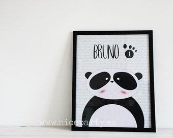 Wall art printable Panda