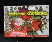 Sy med Korssting, Masser Af Broderier, 32 sider monsterark til alle modellerne, in Danish, Scandinavian flavor, variety of cross stitch