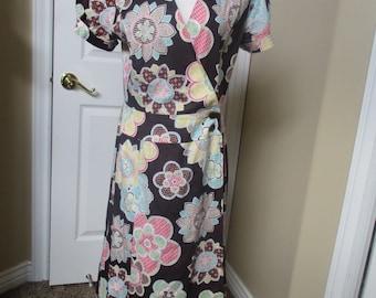 Vintage Dress size 11/12 by Jody of Californiaust Day dress house dress