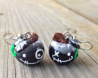 Bad Apple Earrings