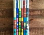 6-pack Gel Pens - superheroes
