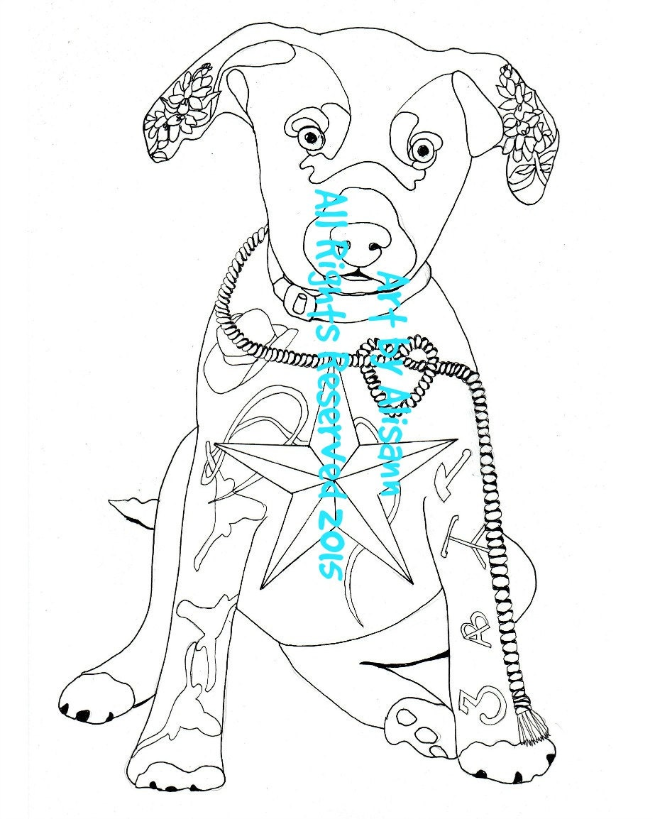 Blue Lacy Hound Texas Coloring Page Love Dogs