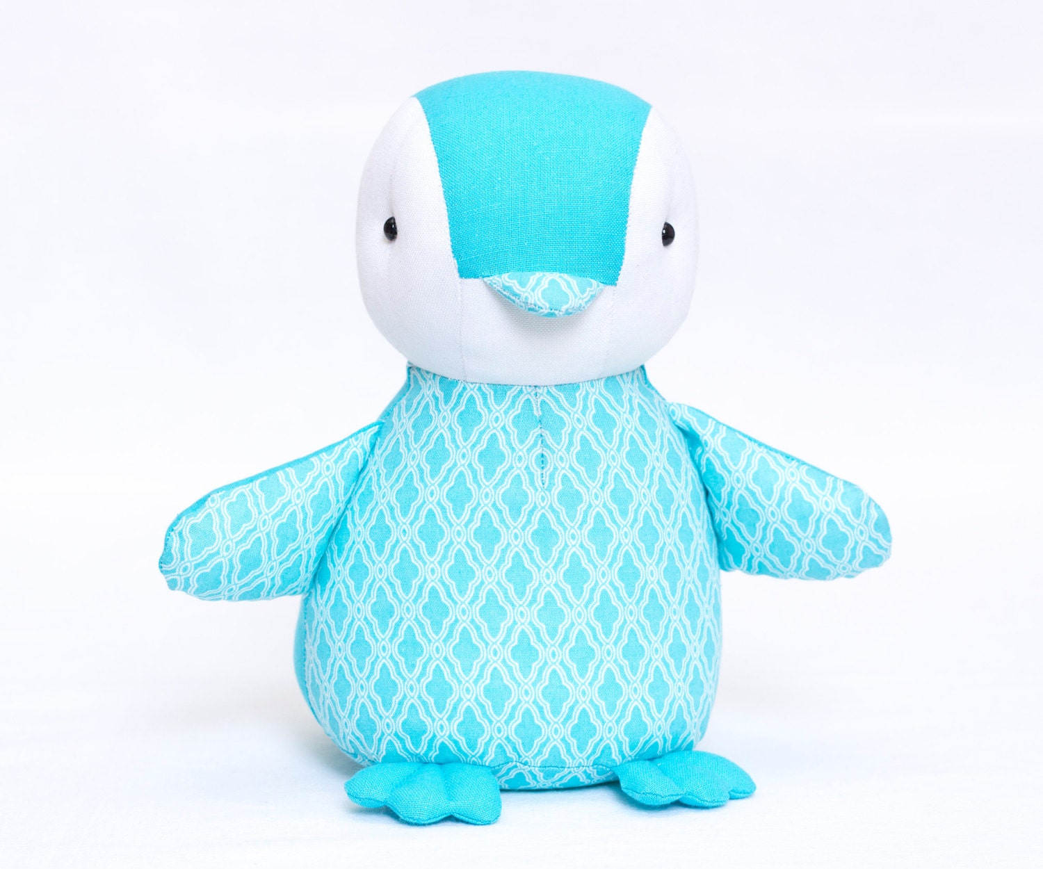 Soft Toy Patterns : Baby penguin sewing pattern and tutorial style
