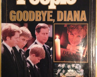 People Magazine on death of Princess Diana.