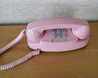 Vintage Western Electric for At&t Princess Pink Phone 1970's