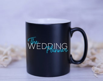 THE WEDDING PLANNER Satin Coated Mug - 8 Colours to Choose From
