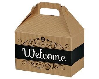Wedding Welcome Box Etsy