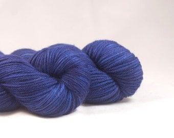 Hand Dyed Superwash Merino DK Yarn Purple