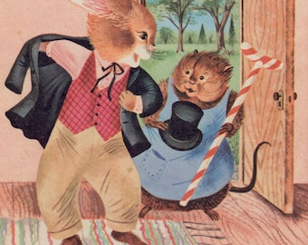 The Uncle Wiggily Book (The Rabbit Gentleman's Adventures) by Howard R. Garis, illustrated by Carl and Mary Hauge