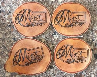 Woodburn Coasters - Set of 4 - Customize