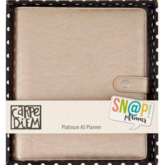 Carpe Diem Platinum A5 Planner Kit 4905 Simple By Wacomarket