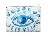 Trafalgar Eye portfolio clutch bag