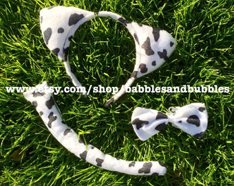 Comfortable Cow Ears Headband Halloween Costume - NEXT DAY SHIPPING!