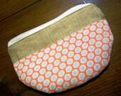 Zipper Pouch - Make-Up Bag - Cosmetic Bag - Coin Purse - Case - Wallet