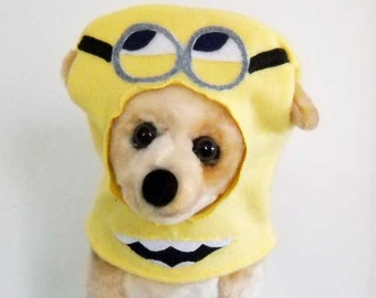 Minion Costume for Small Dog