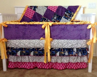 Custom Girl Star Wars Crib Set