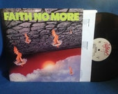 "RARE, Vintage, Faith No More - ""The Real Thing"", Vinyl LP Record Album, Original US 1st Press, Epic, Falling To Pieces, Surprise You're Dead"