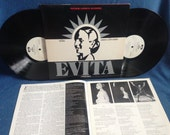 "RARE, Vintage ""Evita"" - Original Soundtrack, Vinyl 2 LP Set, Record Album, Andrew Lloyd Webber, Tim Rice, OBC"