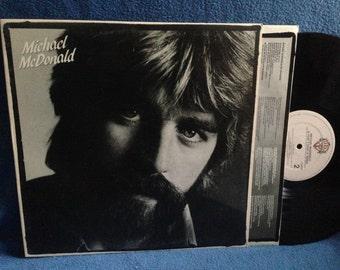 "Vintage, Michael McDonald - ""If That's What It Takes"", Vinyl LP, Record Album, Original First Press, I Keep Forgettin, Warren G, Yacht Rock"