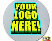Custom Turntable Vinyl Record Slipmat Full Color with Your Logo on a DJ Slip Mat Next Day Shipping! Makes a Great Gift