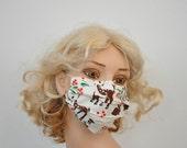 Bambi Designer surgical mask, Bambi, Floral, Cute Face mask, Flu mask, Surgical mask, medical mask