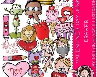 Valentine's Day clip art - Junk Drawer