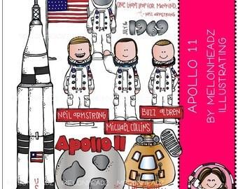 Apollo 11 clip art - COMBO PACK