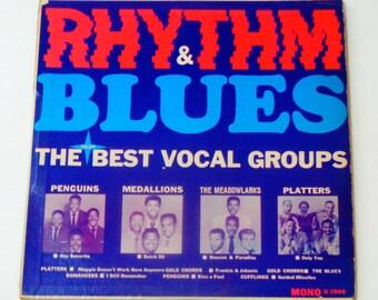 Rhythm & Blues - The Best Vocal Groups - Platters - Penguins - Medallions - Guest Star Records Original Mono - Vintage Vinyl LP Record Album