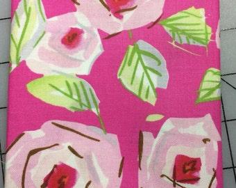 1 yard - Dena Designs-Tiddlywinks - Love by Free Spirit - PWDF184 in Pink - 100% cotton