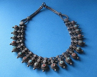 Awesome India Silver Necklace.