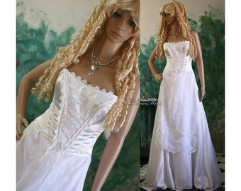 Hungarian Renaissance Inspired Fantasy Wedding Gown - Viola