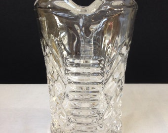 Anchor Hocking - Pineapple - Creamer - Clear Glass