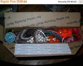 Sale DESTASH jewelry, destash mix, craft or wear repair jewelry, altered art