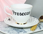 Prosecco in a Teacup