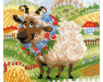 Sheep - Counted Cross Stitch Kit