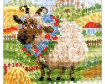 Sheep - Counted Cross Stitch Kit