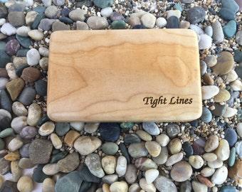 Maple Wood Fly Box