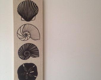Marushka seashell wallhanging