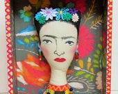 Frida Kahlo Boxed Art Doll