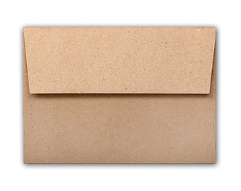 Brown Bag Kraft A1 (4 Bar Square Flap) 70# Text Envelopes